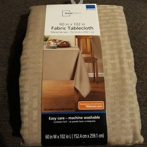 "Other - Fabric tablecloth - 60""x102"""